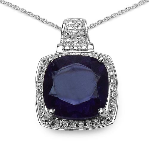 Amethyst:Cushion/12.00mm 1/5.69 ctw #29402v3