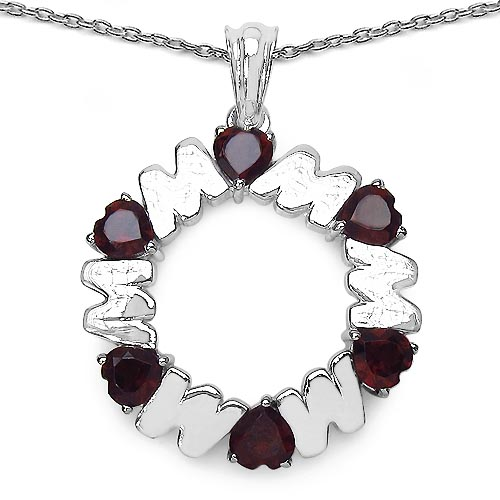 Garnet:Heart Shape/5.00mm 6/3.00 ctw #33667v3