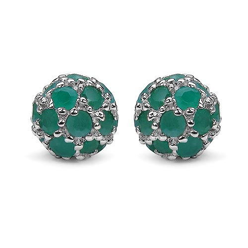 Emerald:Round/2.00-2.10mm 42 /2.10 ctw #29121v3