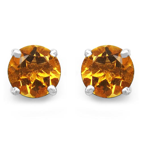Citrine:Round/6.00mm 2/1.51 ctw #29300v3