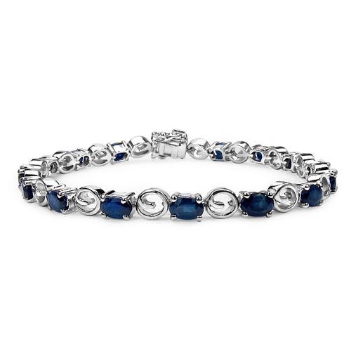 Sapphire Blue:Oval/6x4mm 16/8.80 ctw #29033v3