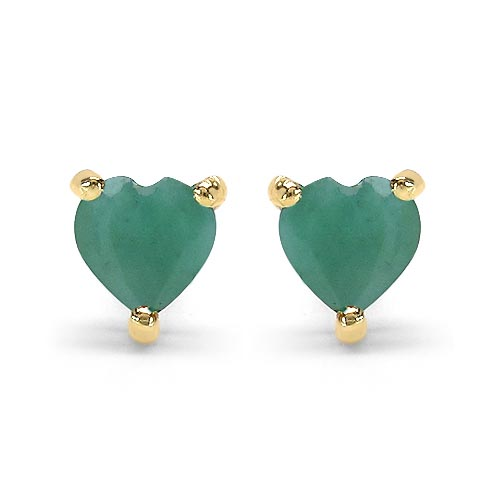 Emerald:Heart/4.00mm 2/0.50 ctw #29272v3