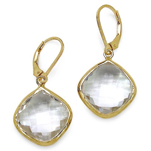 Quartz Crystal:Cushion/15.00mm 2/23.86 ctw #29092v3