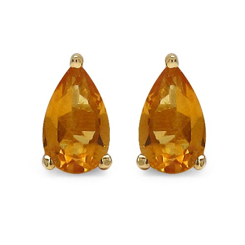 Citrine:Pear/5x3mm 2/0.40 ctw #29286v3