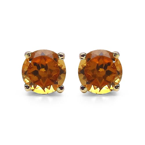 Citrine:Round/4.00mm 2/0.50 ctw #29294v3