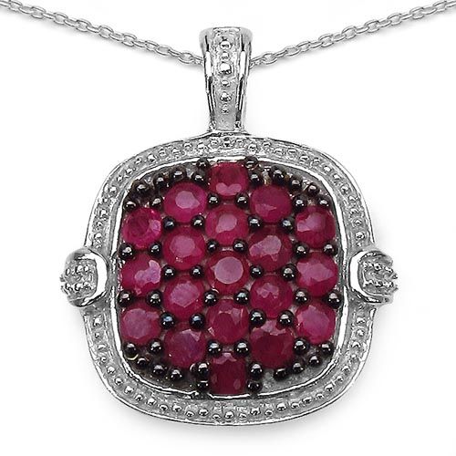 Ruby:Round/ 2.50mm 19/1.52 ctw #29408v3