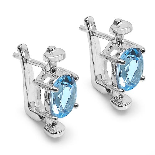Topaz Blue:Oval/7x9mm 2/3.16cts #29164v3