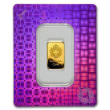 5 gram Gold Bar - Scottsdale Mint (In Certi-Lock #75178v3
