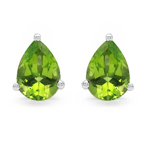 Peridot:Pear/7x5mm 2/1.33 ctw #33487v3