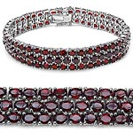 Garnet:Oval/4x3mm 131/26.20 ctw #28395v3