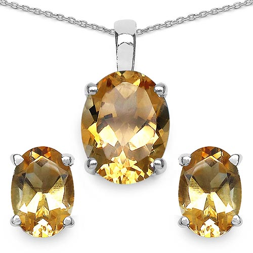 Citrine:Oval/9x7mm 3/5.40 ctw #33465v3