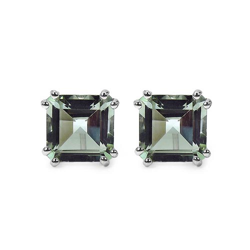 Amethyst Green:Square/10.00mm 2/9.00 ctw #33409v3