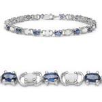 Opal:Oval/4x3mm 13/1.56 Ctw + Sapphire:Oval/5x3mm 13/4.55 Ctw #28402v3
