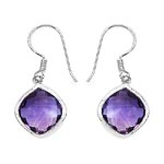 Amethyst:Cushion/12.00mm 2/10.60 ctw #28496v3