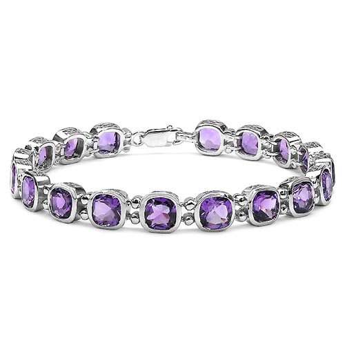 Amethyst:Cushion/6.00mm 18/15.84 ctw #33254v3