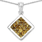 Citrine:Square/2.90mm 16/2.40 ctw #28276v3