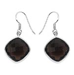 Topaz Smoky:Cushion/16.00mm 2/26.50 ctw #28498v3
