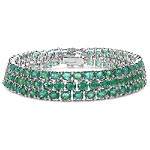 Emerald:Oval/4x3mm 131/19.65 ctw #28400v3