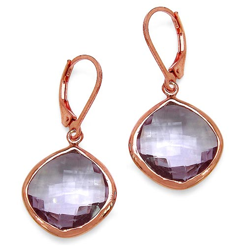 Amethyst:Cushion/15.00mm 2/21.20 ctw #33397v3