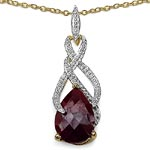 Ruby:Pears/ 14x10mm 1/2.16 ctw #28264v3