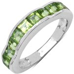 Peridot:Square/3.00mm 11/1.68 Ctw #28326v3