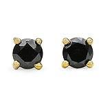 Diamond Black:Round/0.64Pt 2/1.28 ctw #28466v3