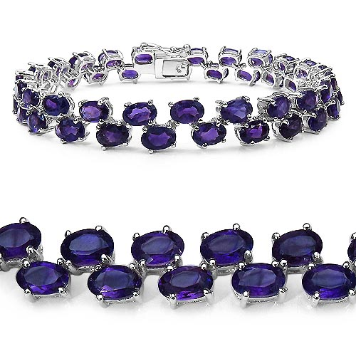 Amethyst:Oval/6x4mm 44/18.92 ctw #33249v3