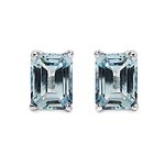 Topaz Blue:Octagon/8x6mm 2/3.60 ctw #28453v3