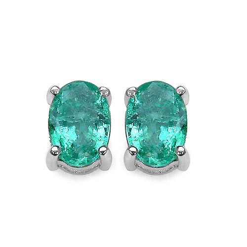 Emerald:Oval/7x5mm 2/1.70 ctw #33468v3