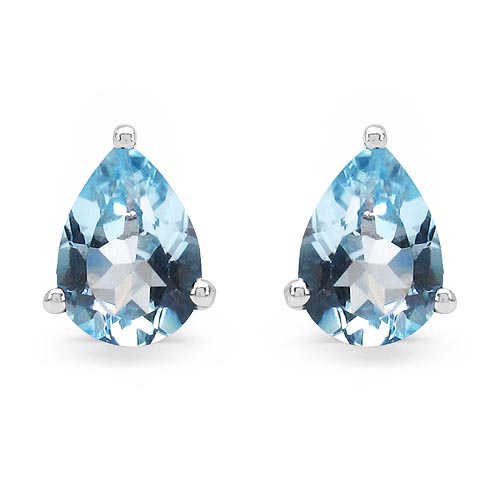 Topaz Blue:Pear/7x5mm 2/1.64 ctw #33484v3