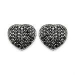 Diamond Black:Round/0.90mm 110/0.56 ctw #28472v3