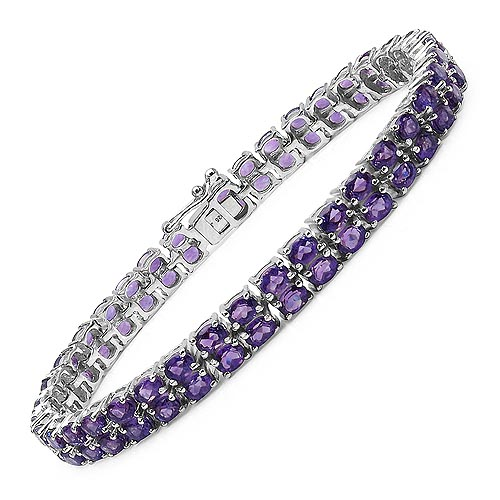 Amethyst:Oval/4x3mm 76/15.20 ctw #33260v3