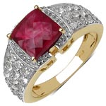 Ruby:Square/8.00mm 1 /3.00 ctw + Topaz White:Round/1.90mm 6 /0.27 ctw + Topaz White:Round/1.80mm 6 /0.24 ctw + Topaz White:Round/1.70mm 6 /0.21 ctw + Topaz White:Round/1.60mm 6 /0.12 ctw + Topaz White:Round/1.50mm 6 /0.12 ctw + Topaz White:Round/1.40mm 6  #28200v3