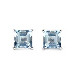 Aquamarine:Square/6.00mm 2/1.90 ctw #28455v3