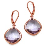 Amethyst:Cushion/15.00mm 2/21.20 ctw #28059v3