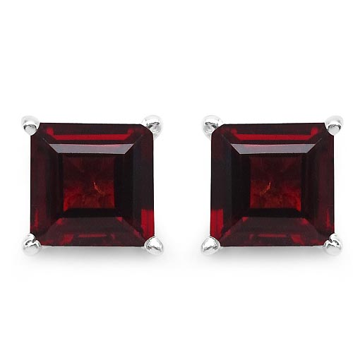 Garnet:Square/6.00mm 2/2.64 ctw #29953v3