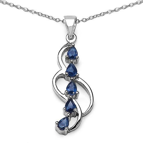 Sapphire Blue:Pears/4x3mm 5/1.00 ctw #29804v3