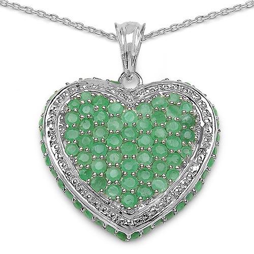 Emerald:Round/2.30-2.40mm 42/2.52 ctw + Emerald:Round/1.80mm 8/0.17 ctw + Emerald:Round/1.70mm 40/1.20 ctw #29838v3