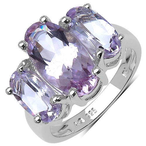 Amethyst:Oval/14x7mm 1 /2.98 ctw + Amethyst:Oval/10x5mm 2 /2.84 ctw #29548v3
