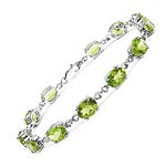 Peridot:Oval/8x6mm 12/14.40 ctw #27986v3