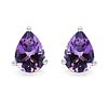 Amethyst:Pear/7x5mm 2/1.25 ctw #28135v3
