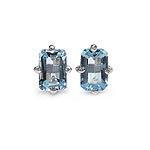 Topaz Blue:Octagon/6x4mm 2/1.36 ctw #28123v3