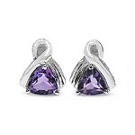 Amethyst:Trillion/6.00mm 2/1.40 ctw #28104v3