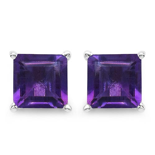 Amethyst:Square/6.00mm 2/2.25 ctw #29952v3