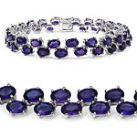 Amethyst:Oval/6x4mm 44/18.92 ctw #27998v3