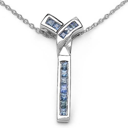 Sapphire Blue:Square/1.80-2.00mm 12/0.72 ctw #29826v3