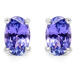 Tanzanite:Oval/ 6x4mm 2/0.88 ctw #28125v3