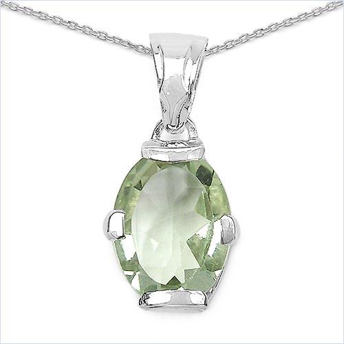 Amethyst Green:Oval/16x12mm 1/8.20 ctw #29461v3