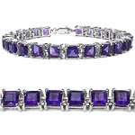 Amethyst:Square/5.00mm 25/15.00 ctw #27992v3