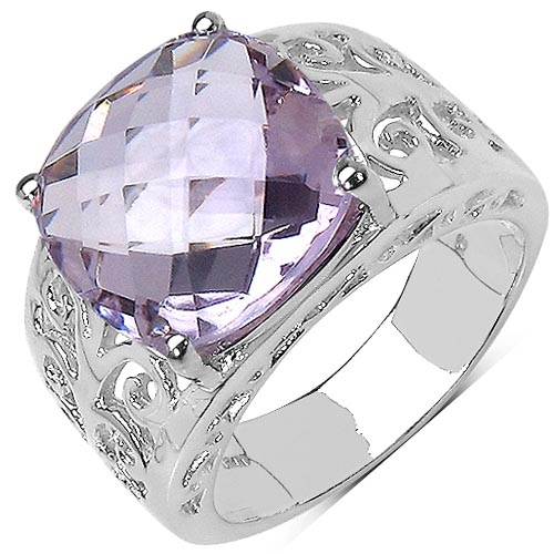 Amethyst:Cushion/ 12.50mm 1/6.28 ctw #29555v3